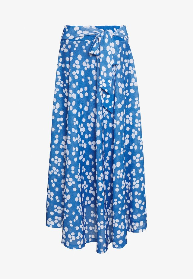 LONG SKIRT - Maxi skirt - bright blue