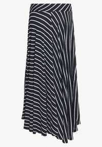 Esprit - LONG SKIRT - Maksihame - black - 1