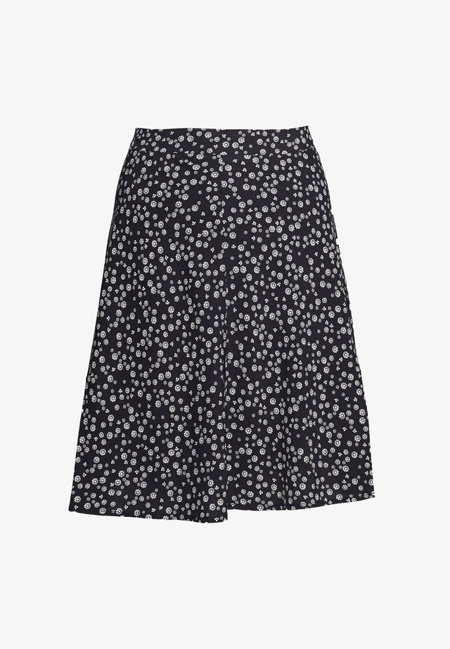MLA-040EE1D320      CORE FLUID CV E - A-line skirt - navy