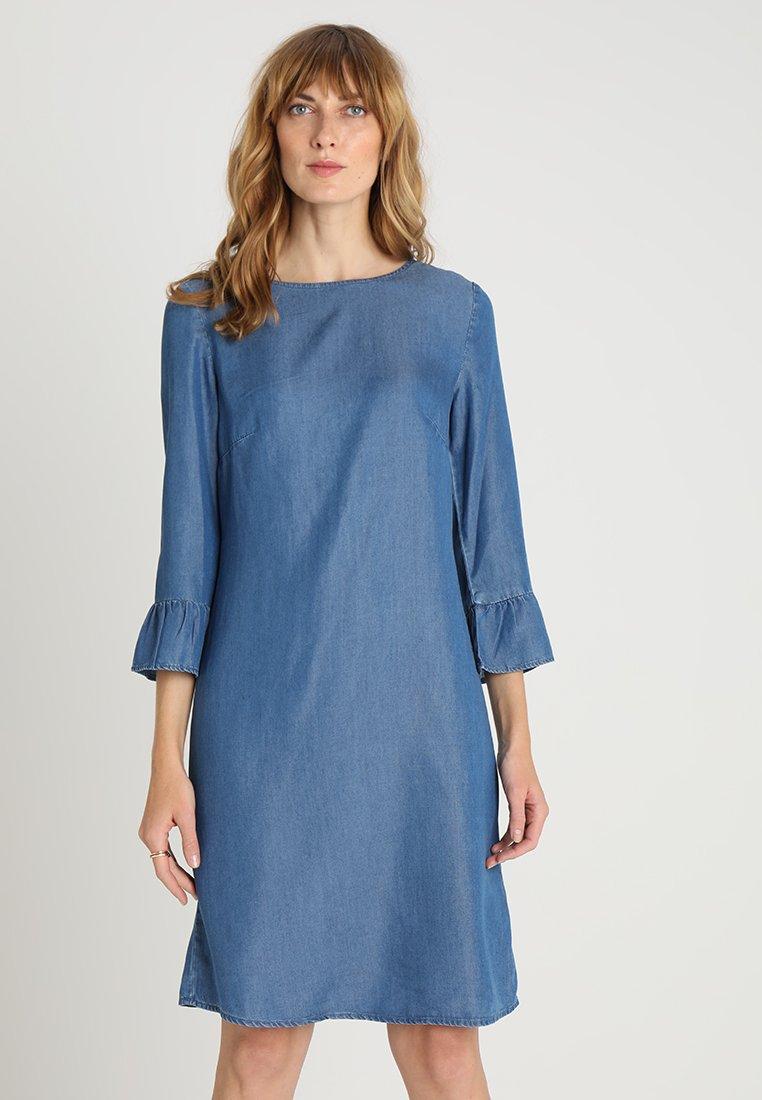 Esprit - DRESS - Day dress - blue medium wash