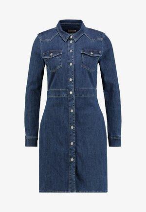 DRESSES - Dongerikjole - blue medium wash