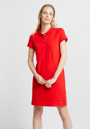 POLO DRESS - Day dress - red