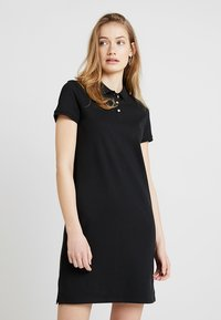 Esprit - POLO DRESS - Korte jurk - black - 0