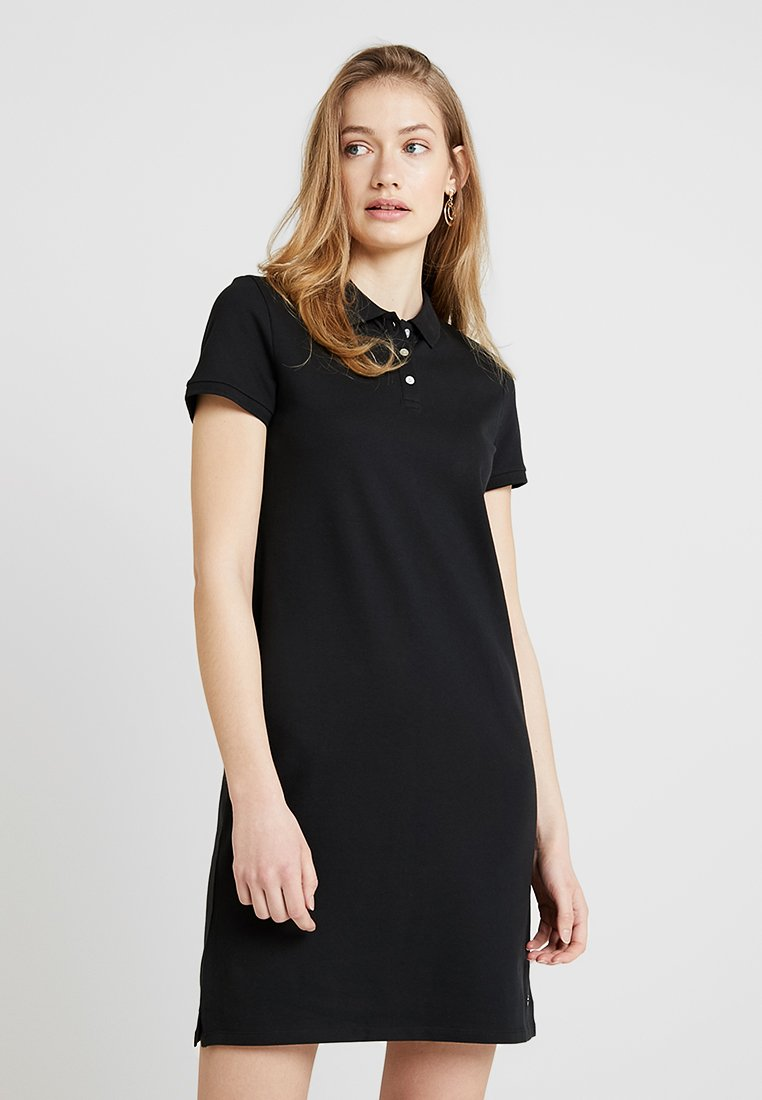 Esprit - POLO DRESS - Korte jurk - black