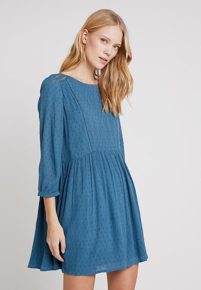 Vestido informal - petrol blue