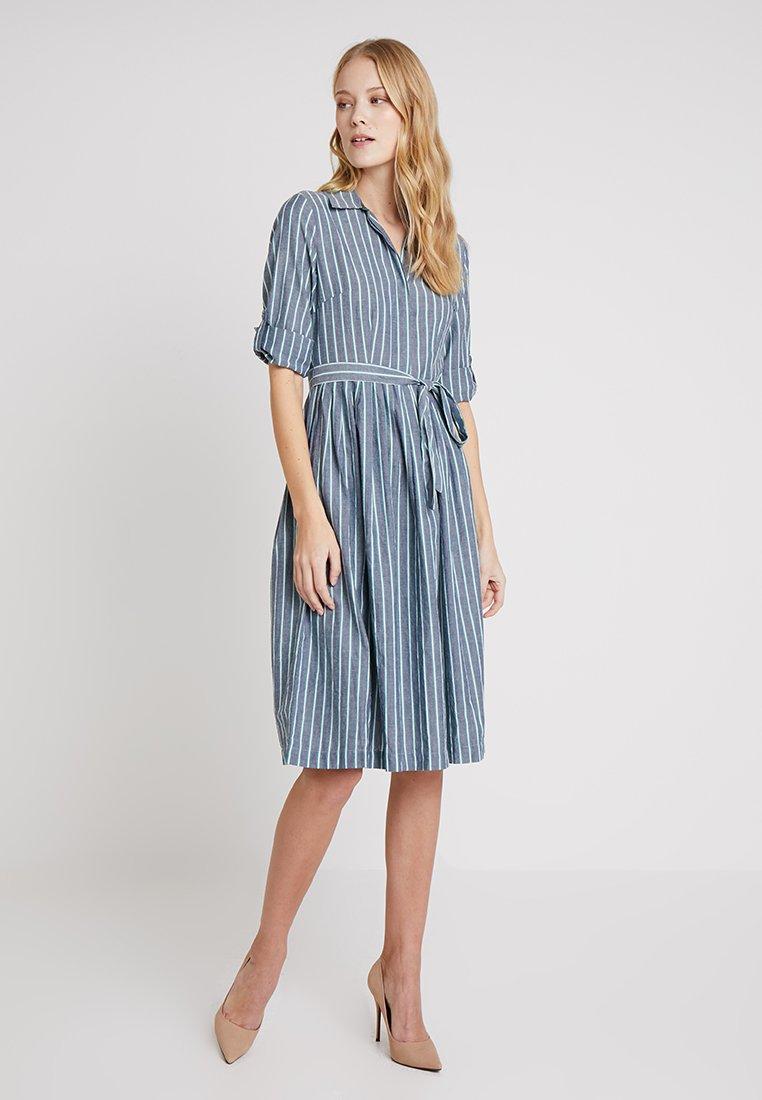 Esprit - SPRING - Shirt dress - grey blue
