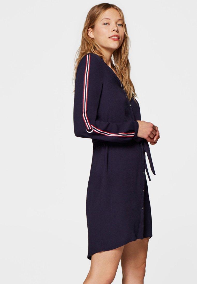Esprit - Skjortekjole - dark blue