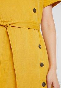 Esprit - Abito a camicia - brass yellow - 7