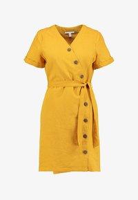 Esprit - Abito a camicia - brass yellow - 6