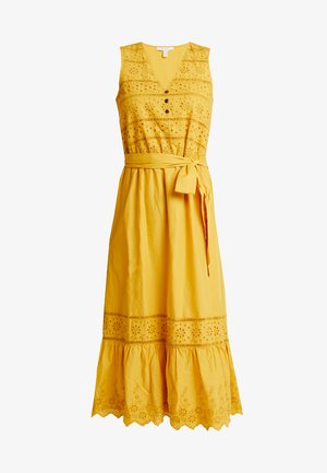 60´S CAMBRIC  - Vestido camisero - brass yellow