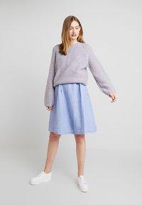 Esprit - STRIPE - Robe d'été - bright blue - 2