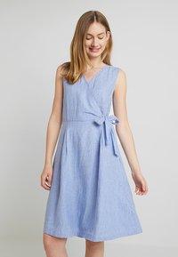 Esprit - STRIPE - Robe d'été - bright blue - 0