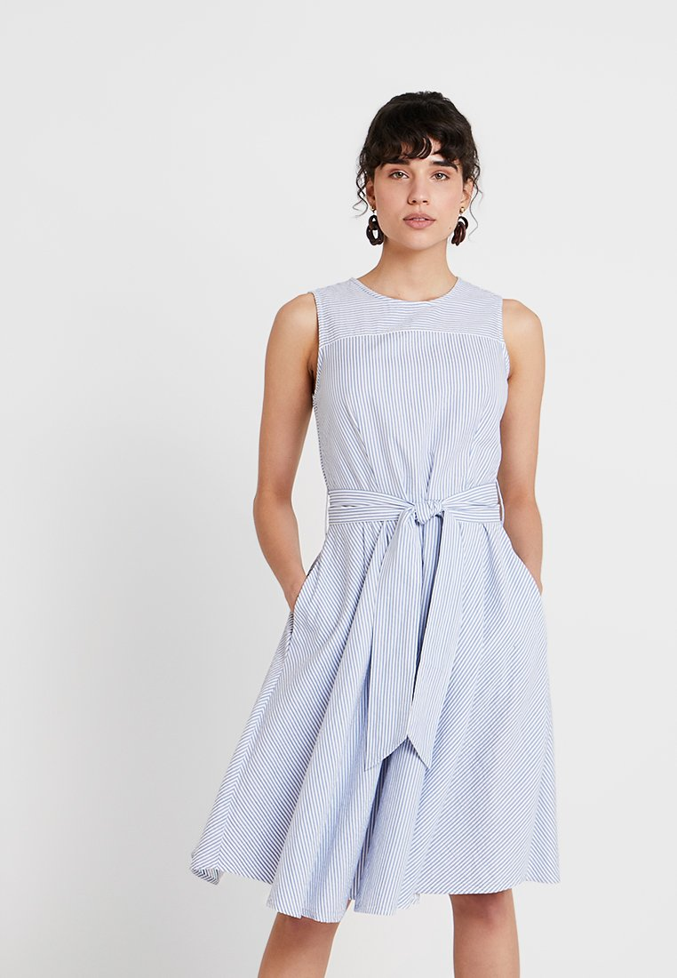 Esprit - STRIPE - Day dress - light blue