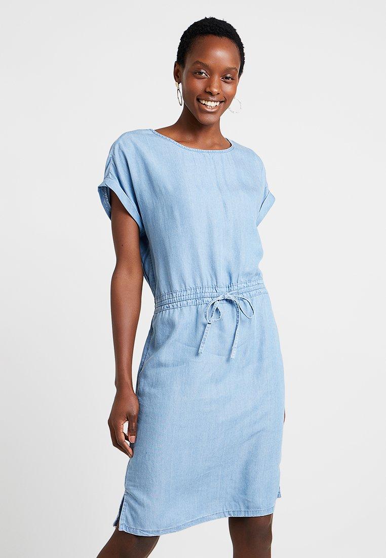 Esprit - DRESS - Denim dress - blue light wash
