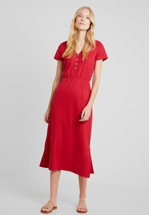 DRESS - Maxikjole - red