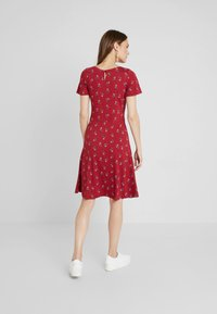 Esprit - MIDI DRESS - Jerseyklänning - dark red - 2