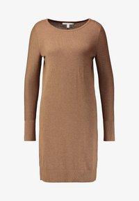 Esprit - DRESS - Strikket kjole - caramel - 5