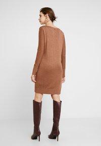 Esprit - DRESS - Strikket kjole - caramel - 3
