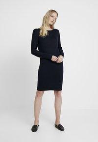 Esprit - DRESS - Jumper dress - navy - 0