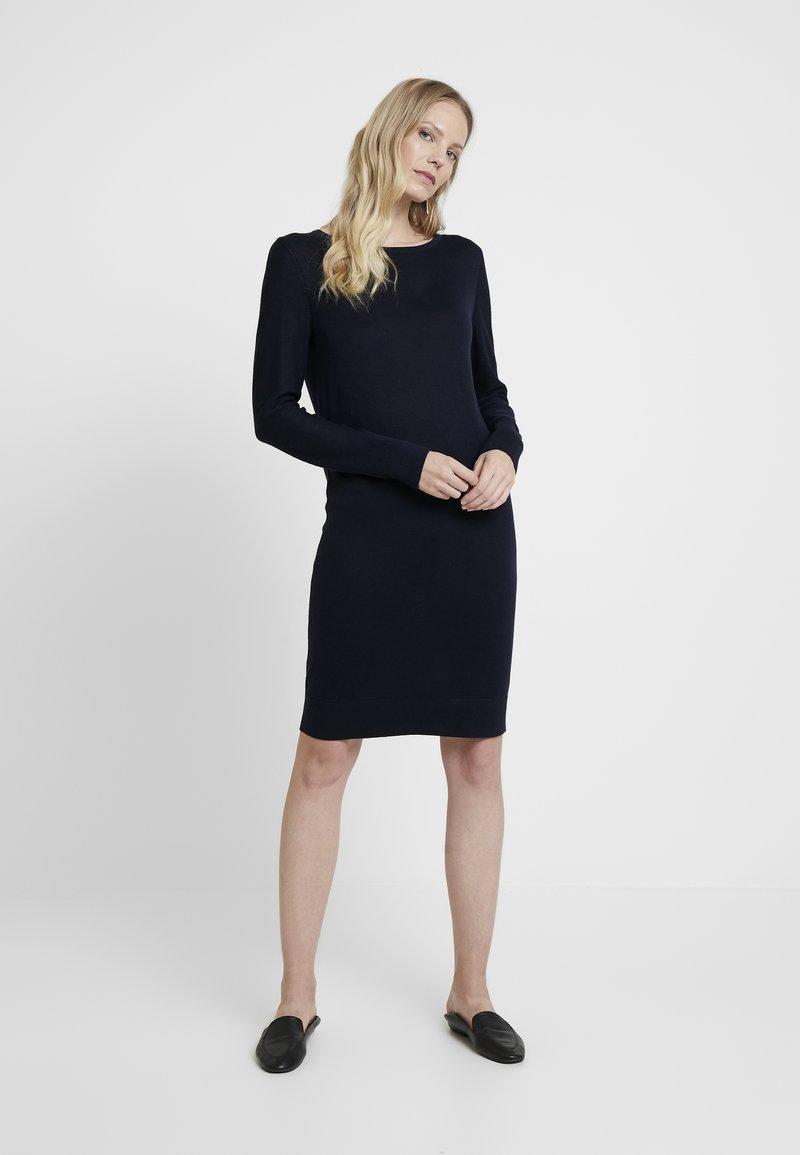 Esprit - DRESS - Strickkleid - navy