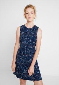 Esprit - EASY DRESS - Žerzejové šaty - navy - 0