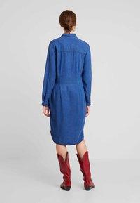 Esprit - DRESS - Spijkerjurk - blue medium wash - 2