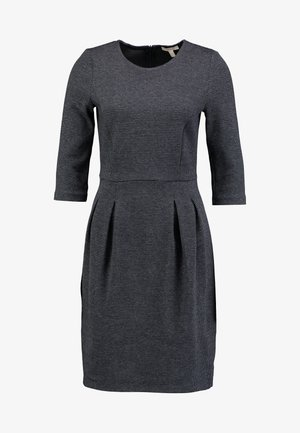 JAQUARD DRESS - Fodralklänning - grey/blue