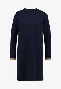Esprit - DRESS - Pletené šaty - navy - 4