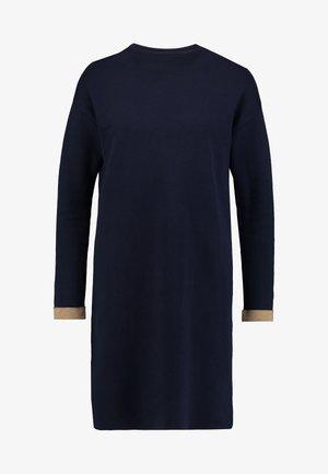 DRESS - Robe pull - navy