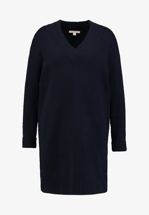 VNECK DRESS - Robe pull - navy