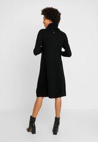 Esprit - DRESS ROLLNECK - Jumper dress - black - 3