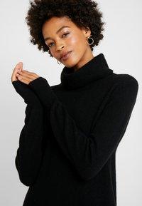 Esprit - DRESS ROLLNECK - Jumper dress - black - 4