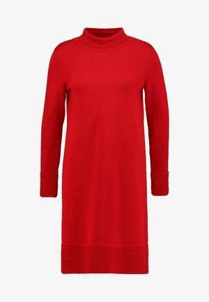 Jumper dress - dark red