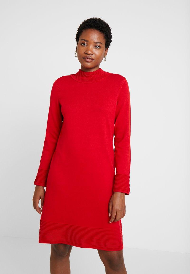 Esprit - Jumper dress - dark red