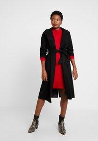Esprit - Jumper dress - dark red - 2
