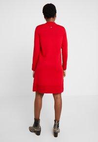 Esprit - Jumper dress - dark red - 3