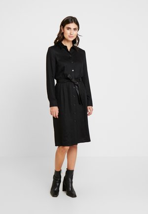 SPRING - Shirt dress - black