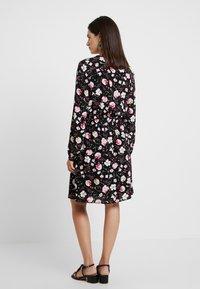 Esprit - PRINT DRESS - Skjortekjole - black - 3
