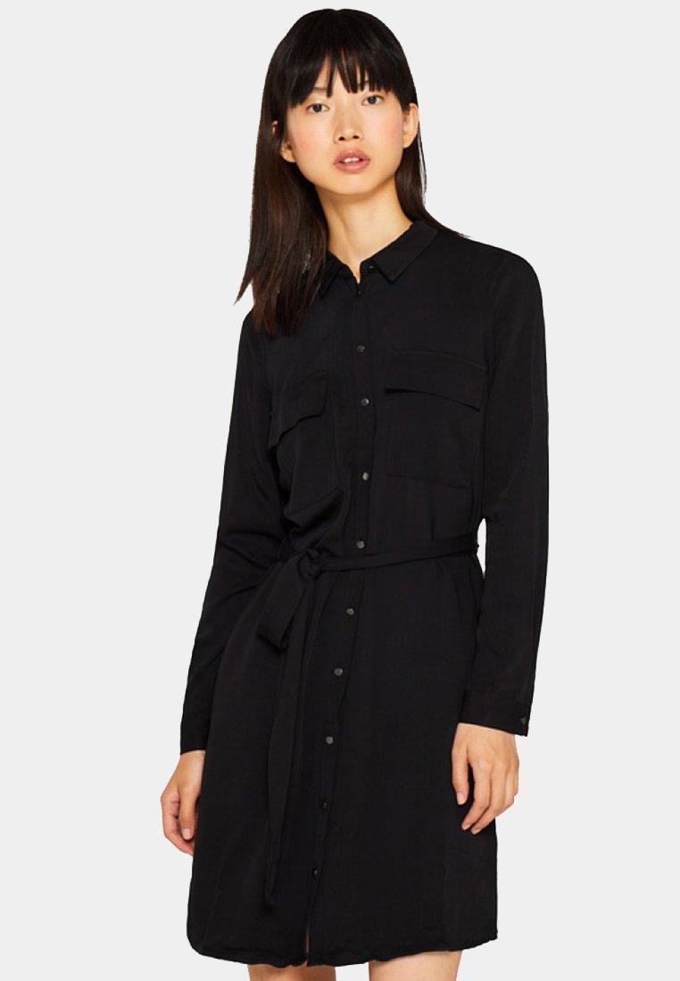 Esprit - Blusenkleid - black