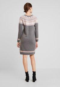 Esprit - DRESS - Strikket kjole - gunmetal - 2