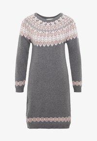 Esprit - DRESS - Strikket kjole - gunmetal - 3