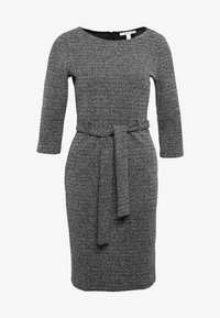 Esprit - BELTED DRESS - Jumper dress - black - 4