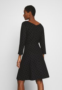 Esprit - FLOCK DRESS - Jerseykjole - black