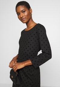 Esprit - FLOCK DRESS - Jerseykjole - black - 3
