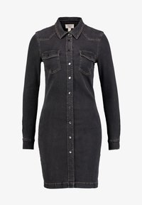 Esprit - DRESS - Spijkerjurk - grey dark wash - 5