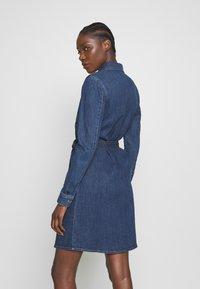 Esprit - DRESS - Denim dress - blue dark wash - 2