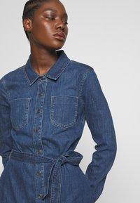 Esprit - DRESS - Denim dress - blue dark wash - 3