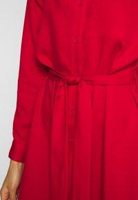 Esprit - Skjortekjole - dark red - 5