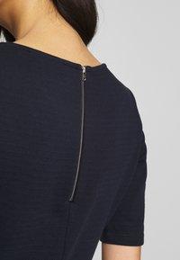 Esprit - SOLID DRESS - Day dress - navy - 5