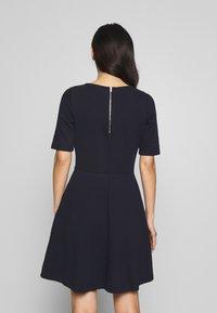 Esprit - SOLID DRESS - Day dress - navy - 2